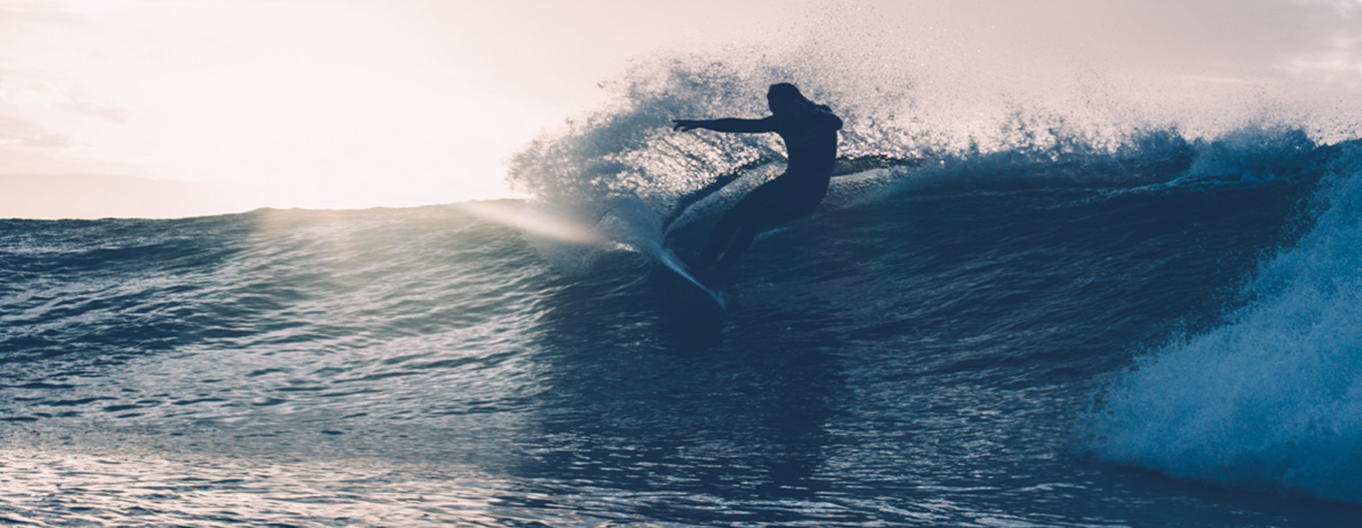 waverider surfer carve
