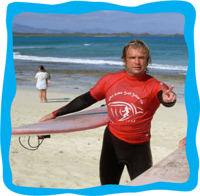 Surf Instructor Nathan